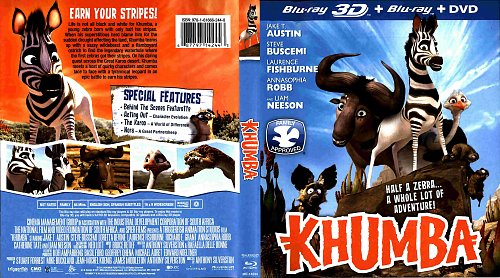 Король сафари 3D / Khumba 3D (2013)