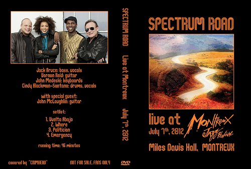 Spectrum Road - Live At Montreux Jazz Festival (2012)