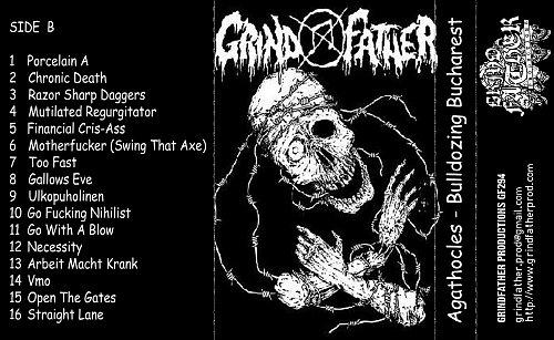 Agathocles - Bulldozing Bucharest (live Bucharest, Romania, 18.12.2010) (2016 GrindFather Prod., UK)