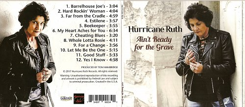 Hurricane Ruth - Ain't Ready for the Grave (2017)