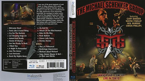 Michael Schenker Group - The 30th Anniversary Concert Live in Tokyo (2010)