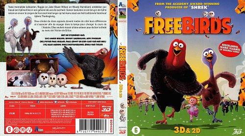 Индюки: Назад в будущее 3D / Free Birds (2013)