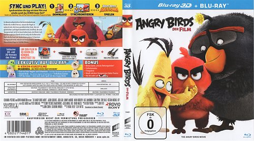Angry Birds в кино / Angry Birds / Angry Birds Movie (2016)