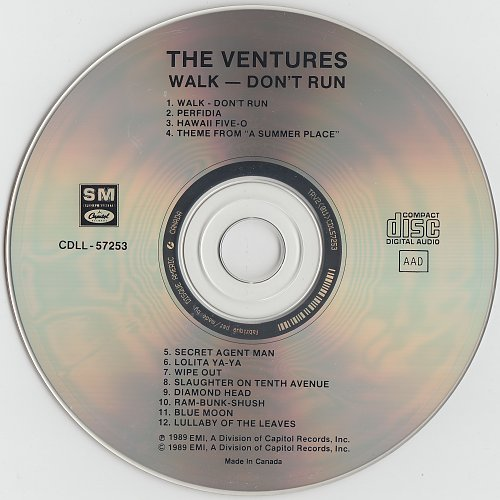 Ventures, The - Walk-Don't Run - All-Time Greatest Hits (1989)