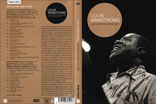 Louis Armstrong - Live In Stockholm (1962)