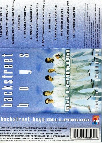 Backstreet Boys -Millennium (1999)