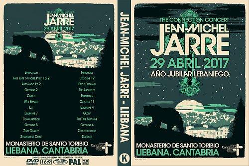 Jean-Michel Jarre - The Connection Concert, Liebana (2017)