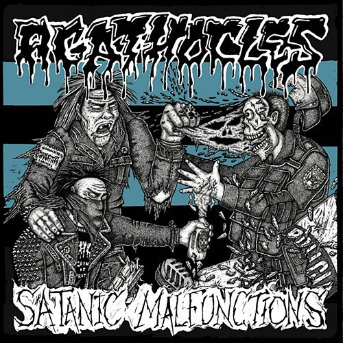 Agathocles / Satanic Malfunctions (2014 Caffeine Sound Studio, Studio 1In12, SelfMadeGod, Poland)