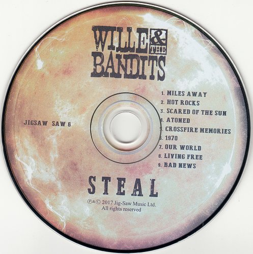 Wille And The Bandits - Steal (2017)