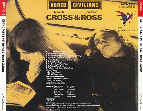 Keith Cross & Peter Ross (T2) - Bored Civilians (1972)