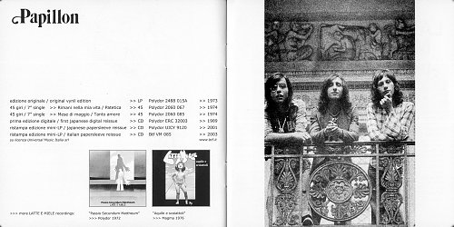 Latte E Miele - Papillon (1973)