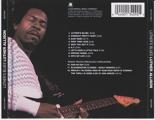 Luther Allison - Luther's Blues (1974)