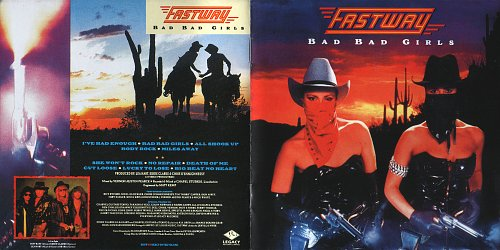 Fastway - Bad Bad Girls (1990)