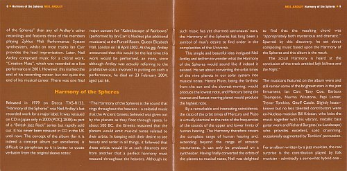 Neil Ardley - Harmony Of The Spheres (1979)
