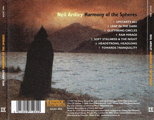 Neil Ardley - Harmony Of The Spheres (1979)