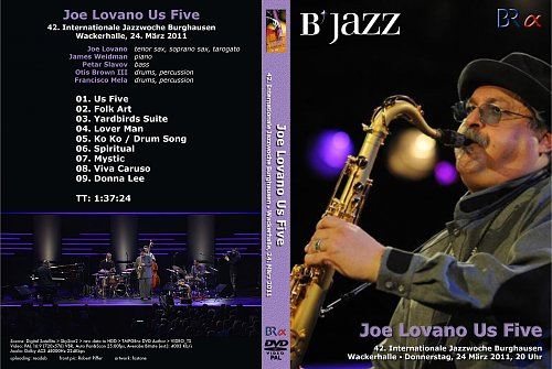 Joe Lovano - Jazzwoche Burghausen (2011)