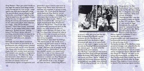 Idle Race [Jeff Lynne] - Back To The Story (2007)