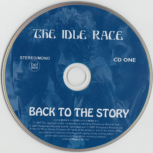 Idle Race [Jeff Lynne] - Back To The Story (2007)