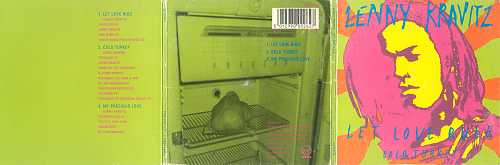 LENNY KRAVITZ - Let Love Rule (1990)