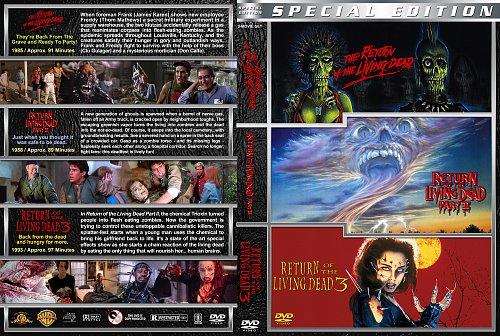 Возвращение живых мертвецов. Трилогия / The Return of the Living Dead. Trilogy (1984 - 1993)