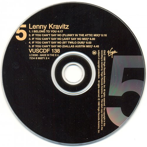 LENNY KRAVITZ - I Belong To You (1998)
