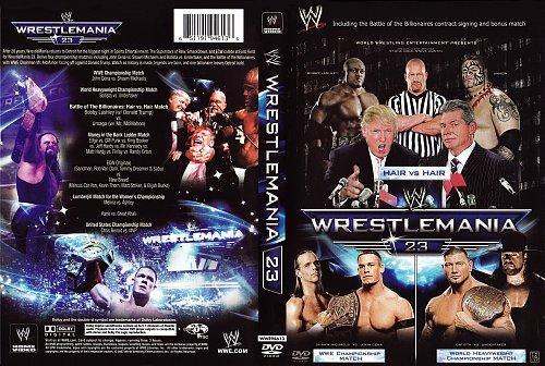 WWE РестлМания 23 / WWE: Wrestlemania XXIII (2007)