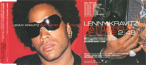 LENNY KRAVITZ - Battlefield Of Love (2002)
