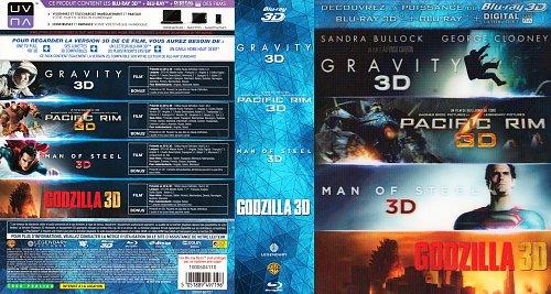 Гравитация + Тихоокеанский рубеж + Человек из стали + Годзилла (2013 - 2014)