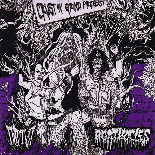 ПАРТиЯ/Agathocles - Crust'n' Grind Protest (2010/2011/2012 No Bread! Rec., Black Cardinal, Belarus)