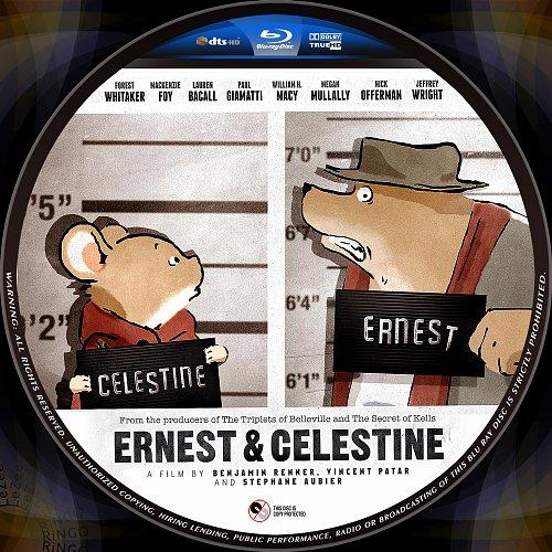 Эрнест и Селестина: Приключения мышки и медведя / Ernest et Celestine / Ernest & Celestine (2012)