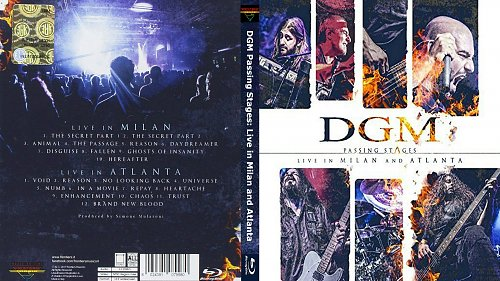 DGM Passing Stages: Live in Milan and Atlanta