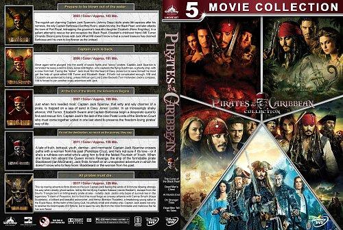 Пираты Карибского моря. Пенталогия / Pirates of the Caribbean. The Pentalogy (2003 - 2017)