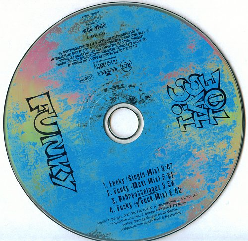 Tic Tac Toe - Funky (1996)