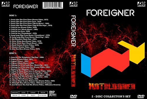 Foreigner - Hot Blooded (2017)