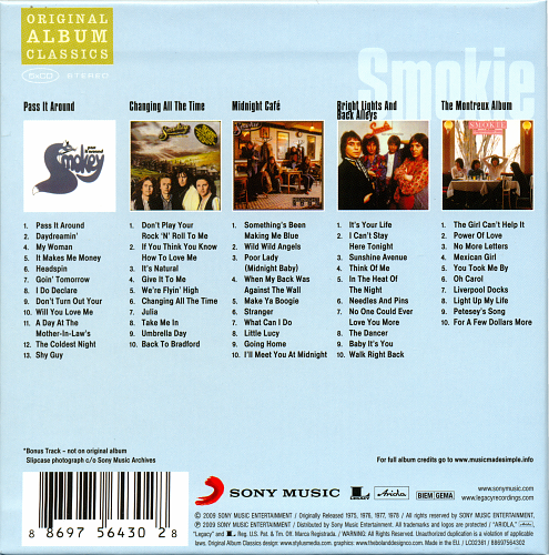 Smokie - Original Album Classics (2009)