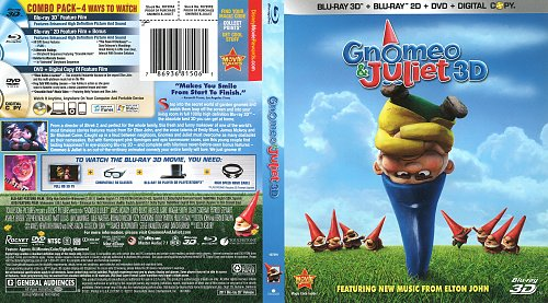 Гномео и Джульетта / Gnomeo and Juliet (2011)