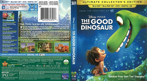 Хороший динозавр / The Good Dinosaur (2015)