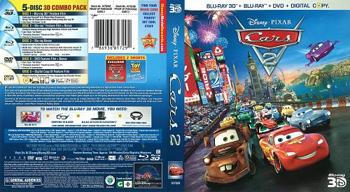 Тачки 2 / Cars 2 (2011)