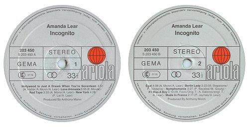 Amanda Lear - Incognito (1981)