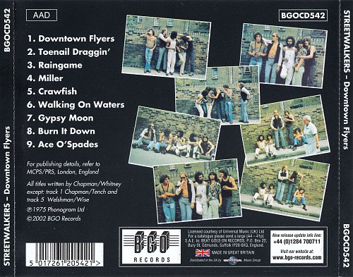 Streetwalkers - Downtown Flyers (1975)