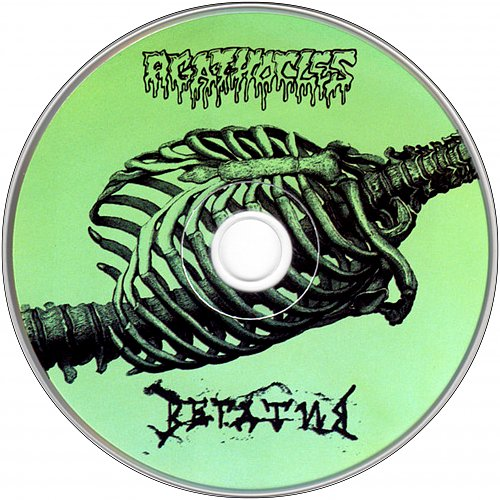 Agathocles (1993) / Вегатив (2009 Makima Records, Daily Revolution Records, ООО ''Маркон'', Russia)