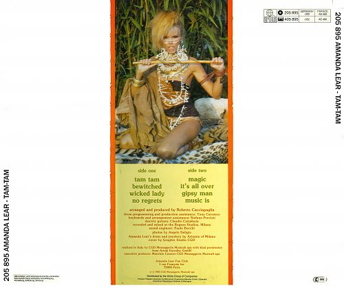Amanda Lear - Tam Tam (1983)