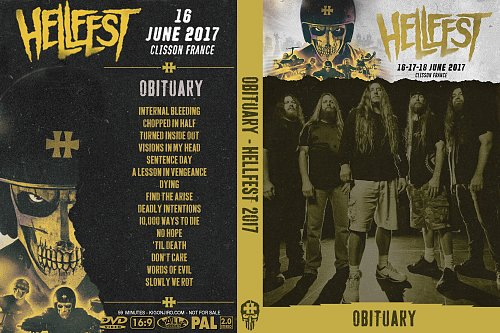 Obituary - Hellfest (2017)