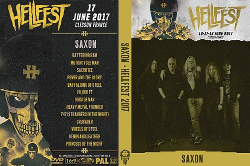 Saxon - Hellfest (2017)
