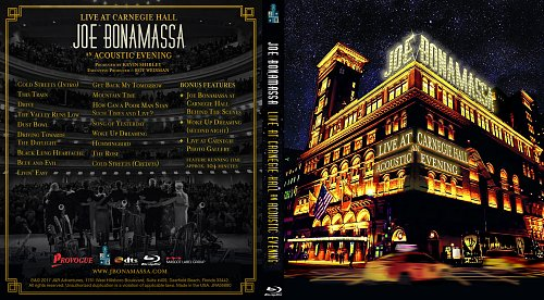 Joe Bonamassa - Live At Carnegie Hall: An Acoustic Evening (2017)