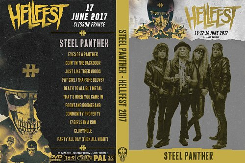 Steel Panther - Hellfest (2017)