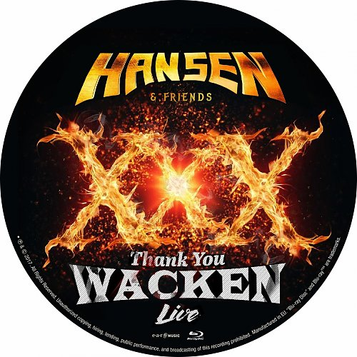 Hansen & Friends - Thank You Wacken: Live (2017)