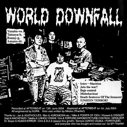 World Downfall / Agathocles (2003) (2004 Abort The World, Icon Omnimedia Corp., USA)