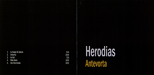 Herodias - Antevorta (2012)