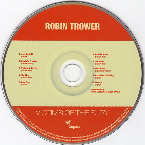 Robin Trower - Victims Of The Fury (1979)
